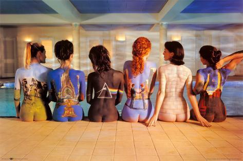 Pink Floyd Back Catalogue Mounted /& Framed Print