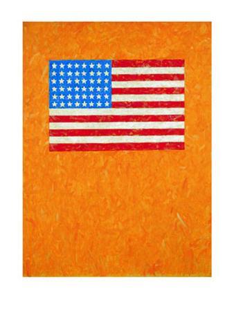 Flag on Orange Field, 1957