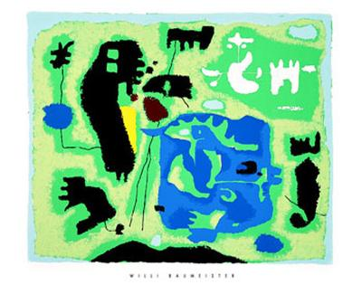 Komposition in Grun, c.1954