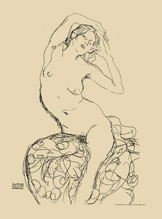 Seated Nude, c.1914-16