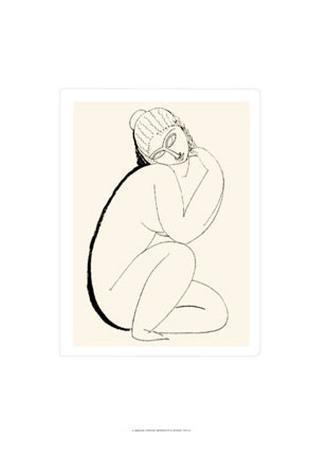 Nudo Seduto, c.1910-11