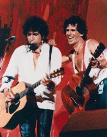 Bob Dylan & Keith Richards