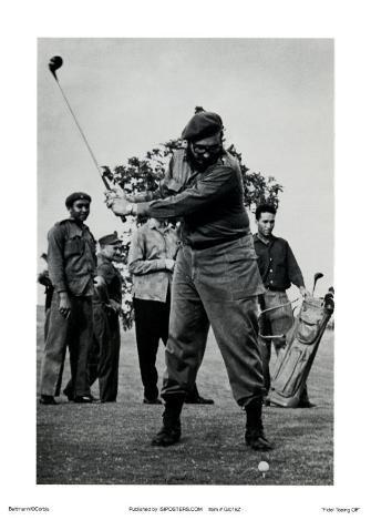 Castro Teeing Off