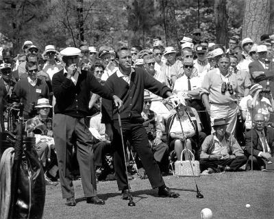 Arnold Palmer and Ben Hogan, 1966