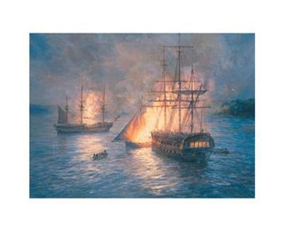 Fireships on the Hudson River