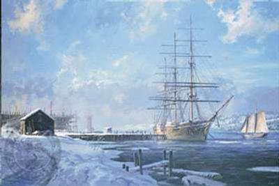 Shipbuilding Along the Kennebec