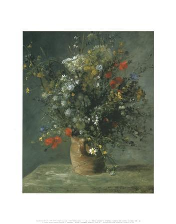 Flowers in a Vase c.1866