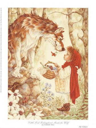 Little Red Ridinghood Meets the Wolf