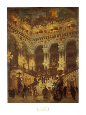 The Lobby of the Paris Opera