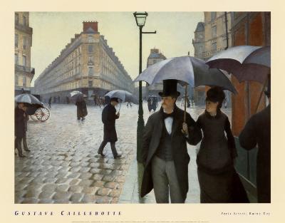 Paris Street Rainy Day