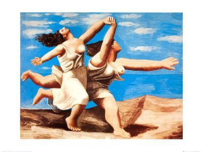 Women Running on the Beach, c.1922
