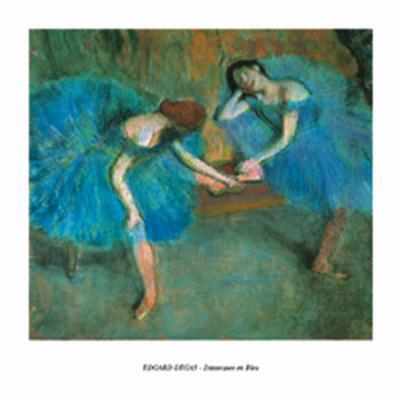 Ballerinas In Blue