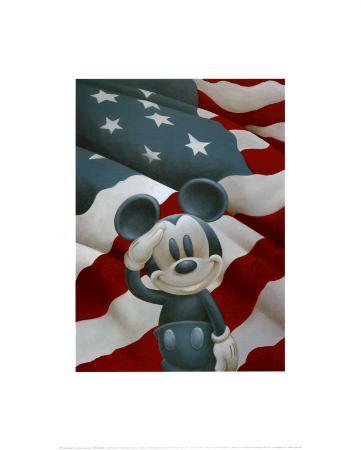 Mickey Salutes America