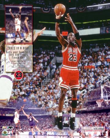 Michael Jordan - Three In A Row (Limited Edition)