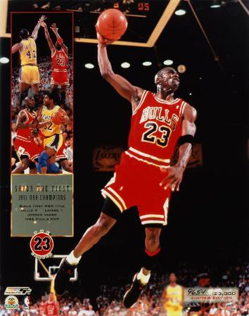 Michael Jordan - Savor The First (Limited Edition)