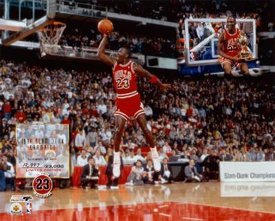 Michael Jordan - Slam Dunk Champion (Limited Edition)