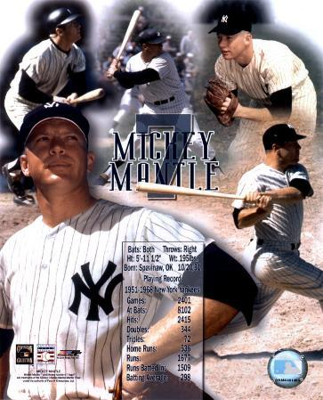 Mickey Mantle - Legends Of The Game Composite