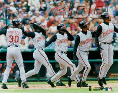 Ken Griffey, Jr. - 400th Home Run Multi-Exposure