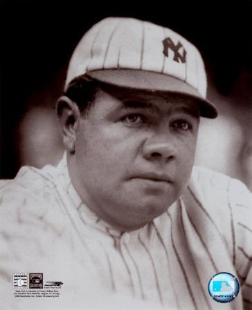 Babe Ruth - classic portrait