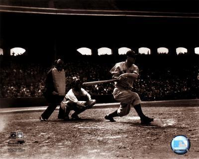 Lou Gehrig- batting