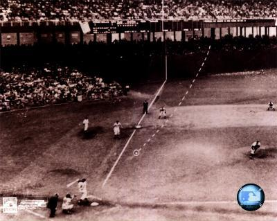 Bobby Thomson - 1951 Home Run (Dotted Line)