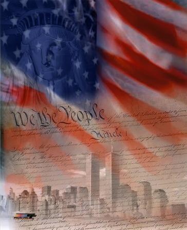 Flag/Patriotic Collage