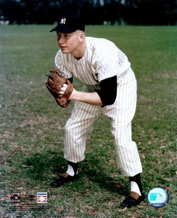 Mickey Mantle - #2 Posed Fielding