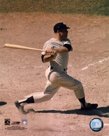 Mickey Mantle - #5 Batting