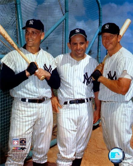 Roger Maris Yogi Berra And Mickey Mantle Photo At Allposters