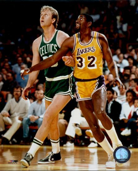 Larry Bird And Magic Johnson Photo At Allposters Com