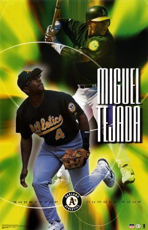Oakland Athletics - Miguel Tejada