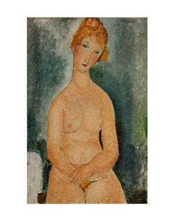 Seated Nude, c.1918