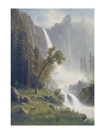 Bridal Veil Falls, Yosemite, c.1871-73