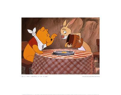 Pooh and Rabbit