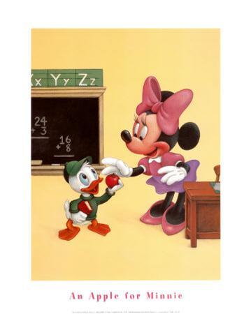 An Apple for Minnie