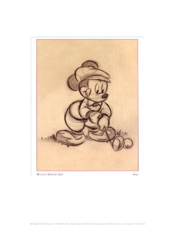 Mickey's Golfing Day