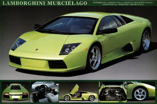 Lamborghini Murcielago Posters At Allposters Com