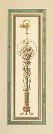 Floral Pedestals II