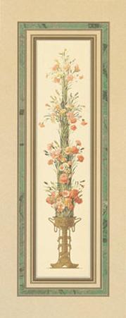 Floral Pedestals III