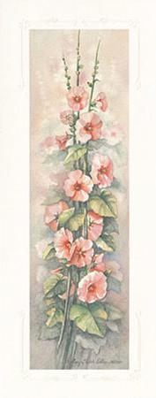Hollyhocks I