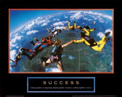 Success: Skydivers
