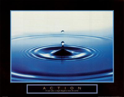Action: Drop of Water