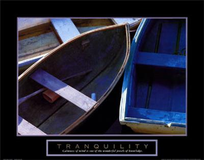 Tranquility: Three Boats