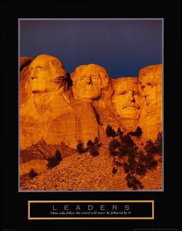 Leaders: Mount Rushmore