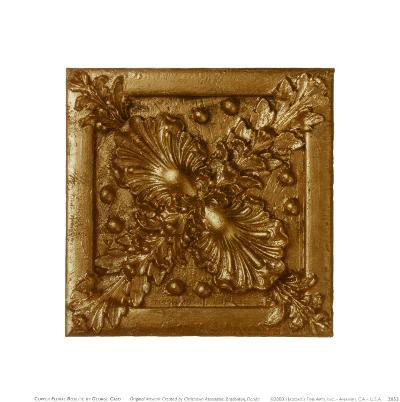 Copper Floral Rosette