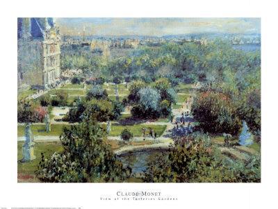 View of Tuileries Gardens