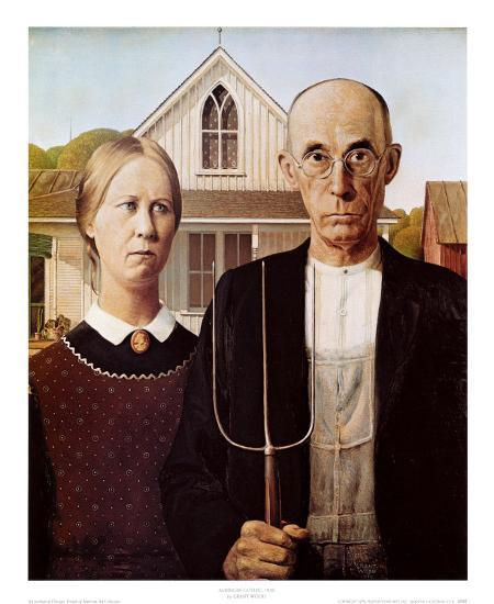 American Gothic 1930 Prints By Grant Wood At AllPosters
