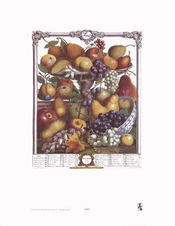 Twelve Months of Fruits, 1732, November
