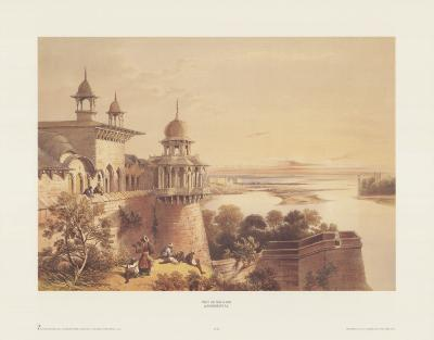 Palace and Fort at Agra