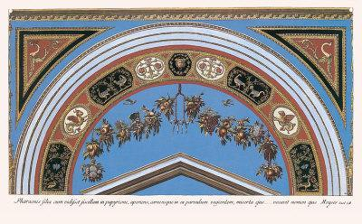 Loggia in the Vatican I (detail)